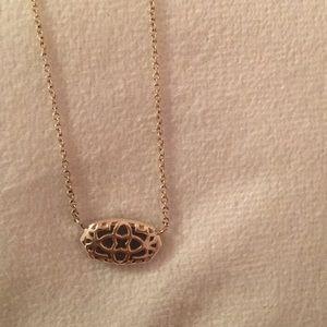Kendra Scott Jewelry - Kendra Scott Multi Color Drusy Gold Elisa Necklace